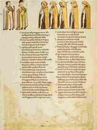 Dante Alighieri Divina commedia. Codex Altonensis.