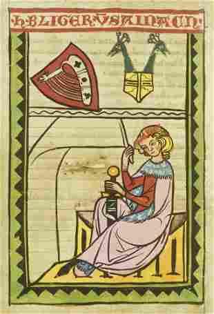 Die Weingartner Liederhandschrift. Faksimile der
