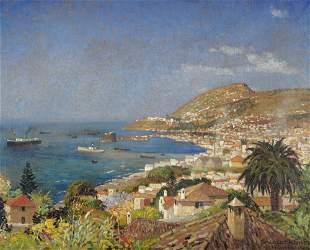 Kunze, Albert Blick über die Bucht von Funchal,