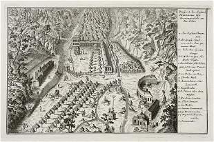 Schleuen, Johann David Prospect des Gesund Brunnens bei