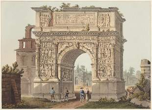 Dubourg, Matthew Sammlung von drei Ansichten von Rom.