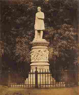Schmidt, A Ansicht des Denkmals von König