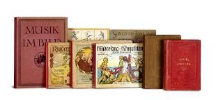Sammlung von 9 Werken des 20. Jahrhunderts in 10 Bä