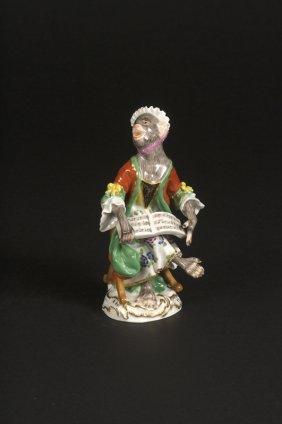 Affenkapelle Einzelfigur: Die S�ngerin.