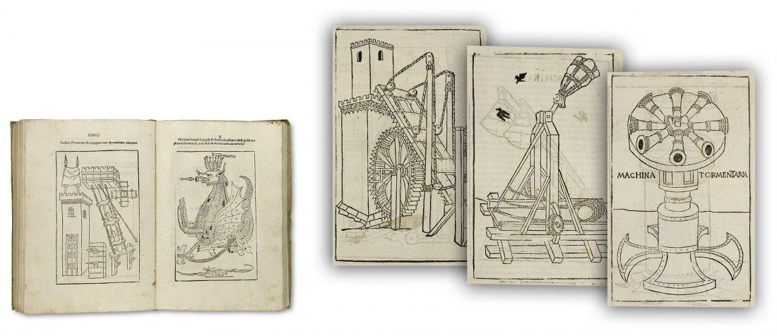Valturius - De re militari 1483 Military 1st Edition