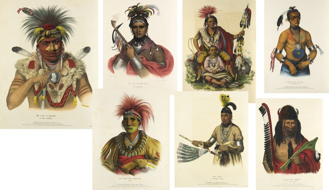 History of the Indian Tribes of North America, FE 1838