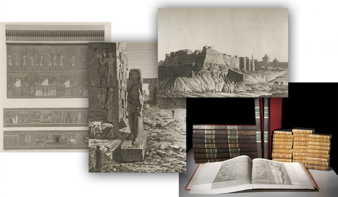 Description de l'Egypte Egypt 24 volumes 1821 Napoleon
