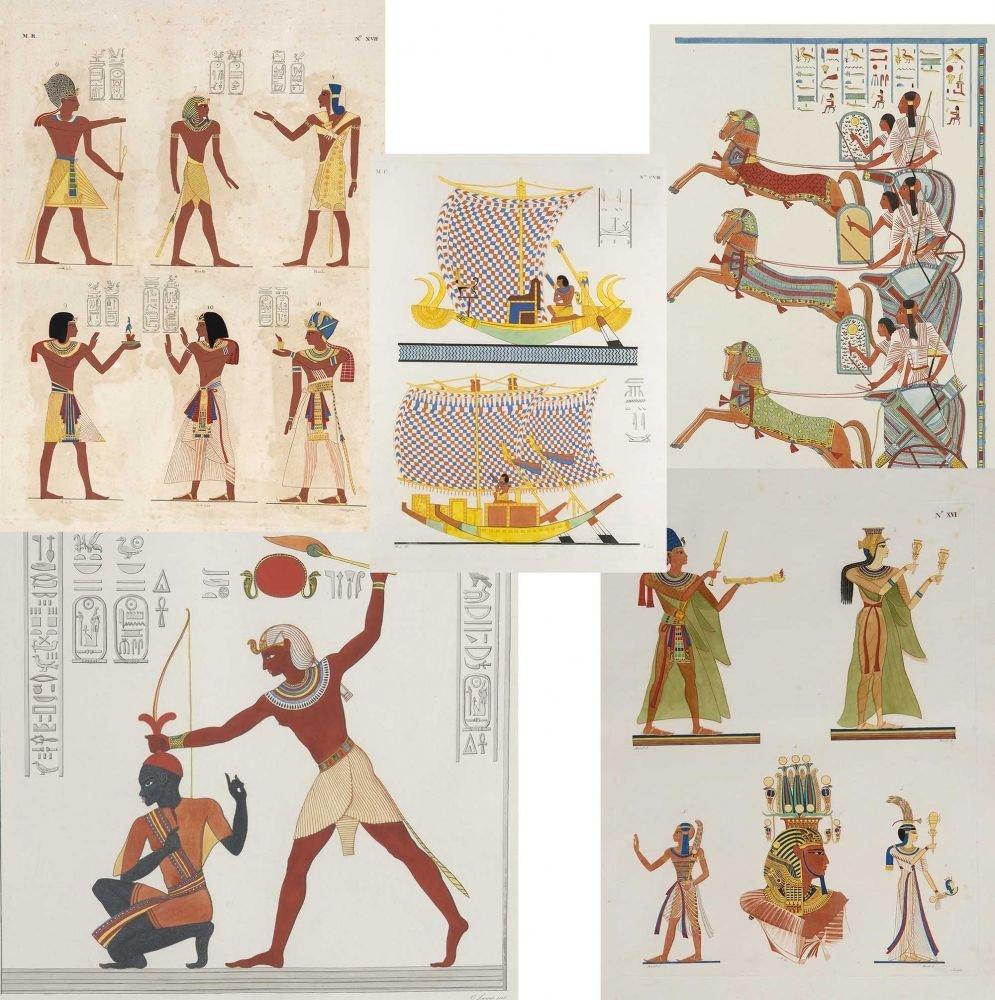 I Monumenti dell'Egitto e della Nubia Egypt 1832