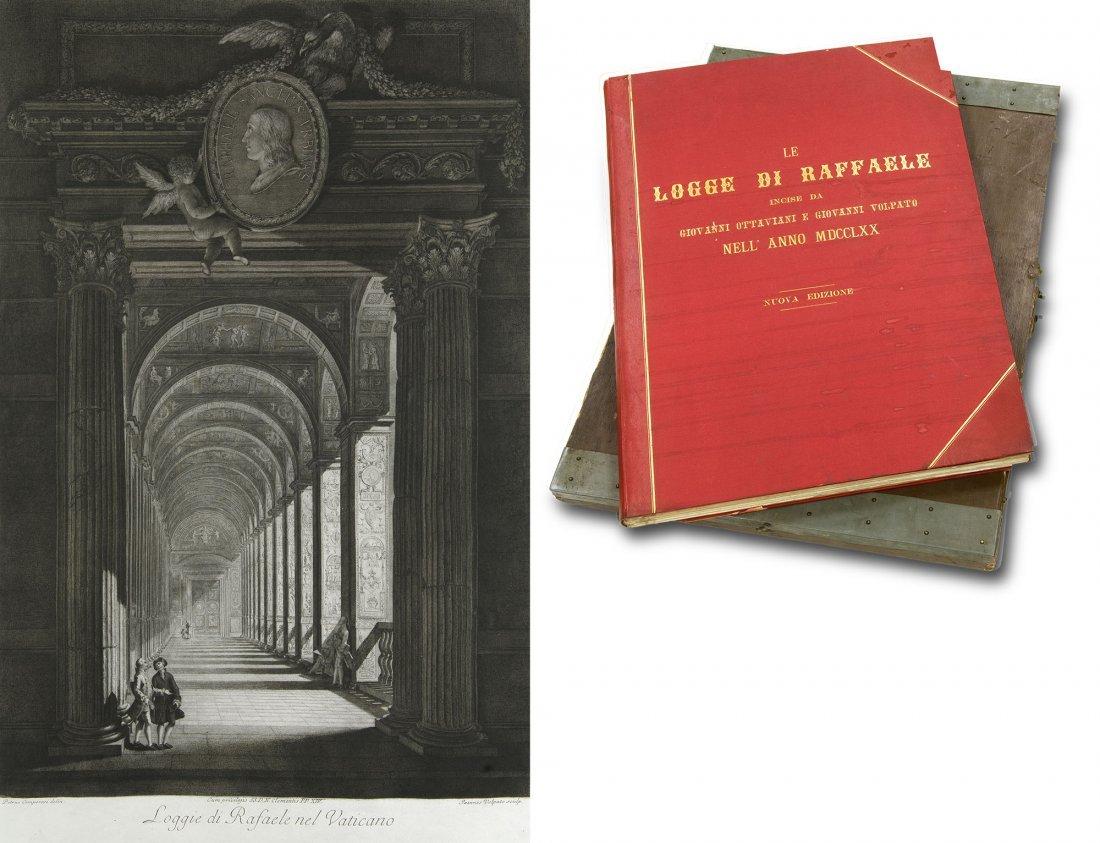 Ottaviani & Volpato Le logge di Raffaele 1770 Engraved
