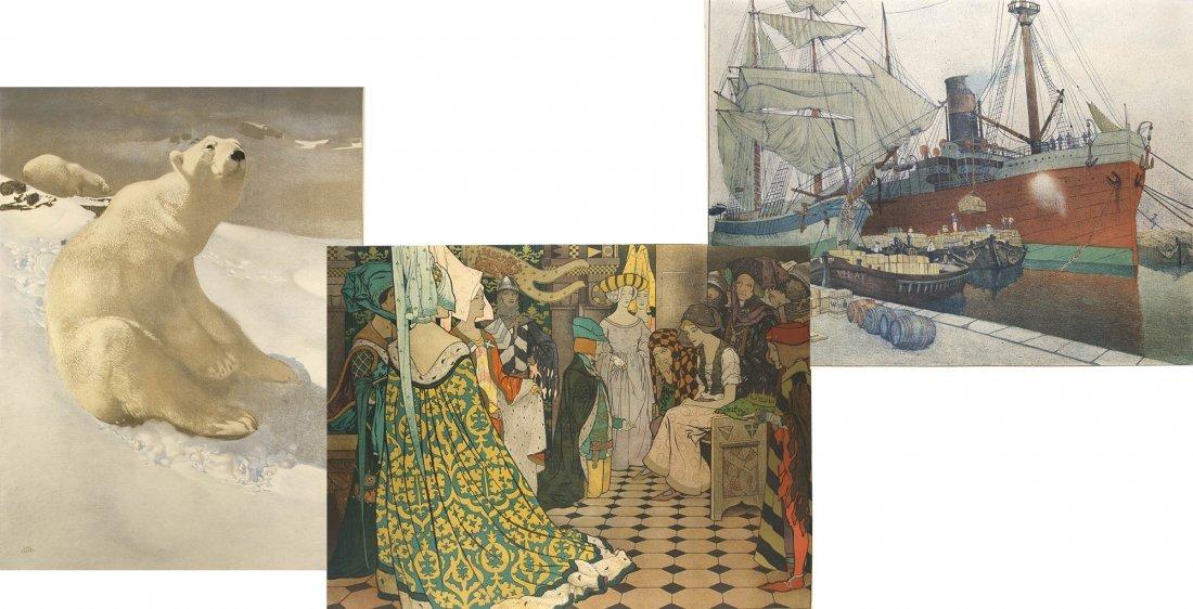 Wandtafeln für Schule und Haus Vienna Secession 20 lith