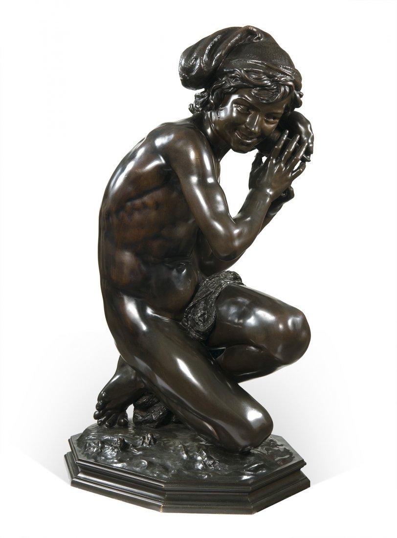 Carpeaux, Jean-Baptiste Pêcheur à la Coquille 1870