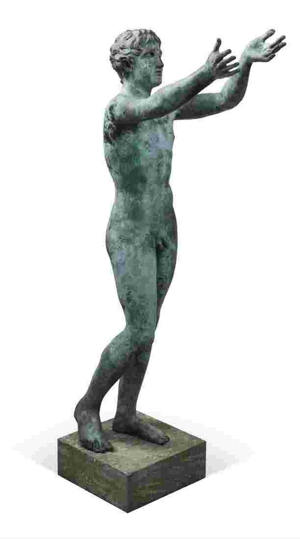 Greek statue - Praying boy. Between 1820 and 1835