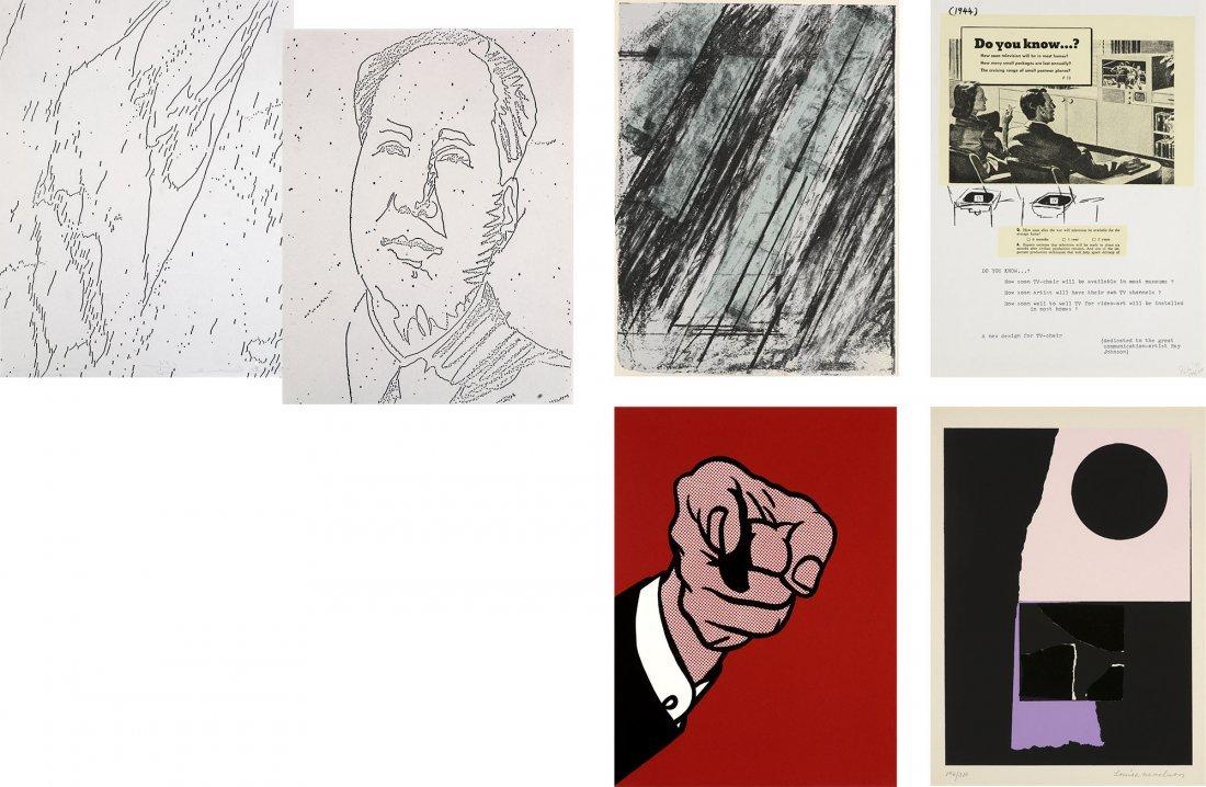 New York Collection Warhol Lichtenstein Twombly Pop Art
