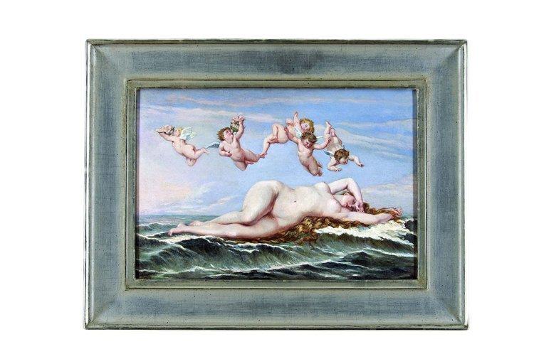 Cabanel, Geburt Venus, Öl - Female nude - Erotica