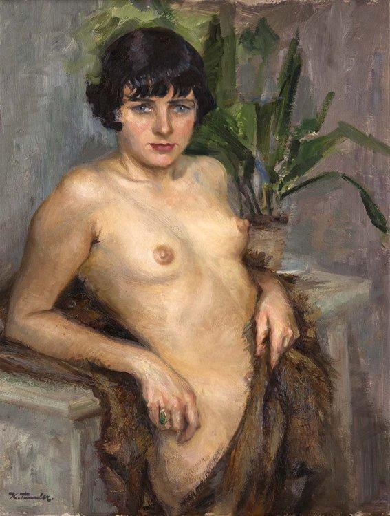 Timmler, Akt, Öl - Female nude - Erotica