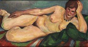 Scheld, Akt, 1931, �l