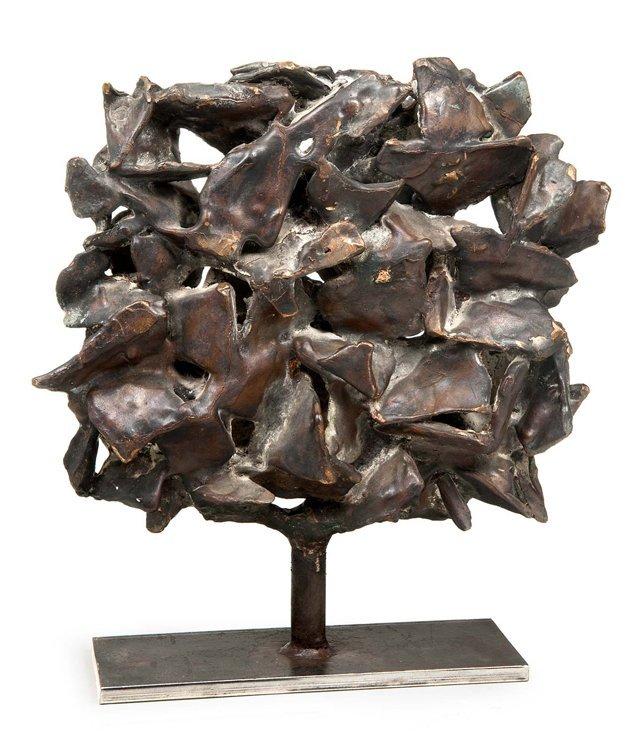 Cimiotti, Baum, Bronze - Sculpture