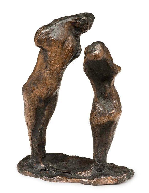 Flierl, Paar, Bronze - Sculpture