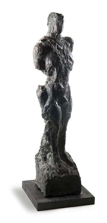 Unbekannt, Männl. Akt, Bronze