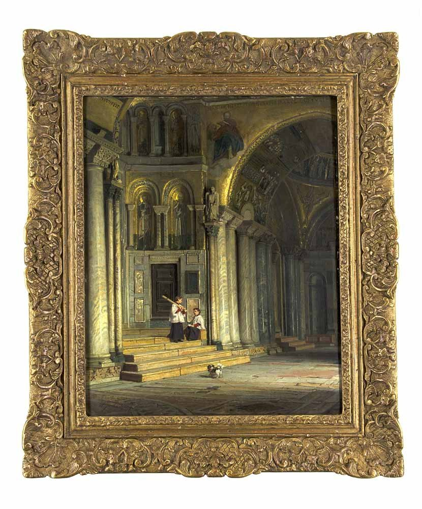 Martens, Willem Johannes  Eglise de St. Marc in Venice.