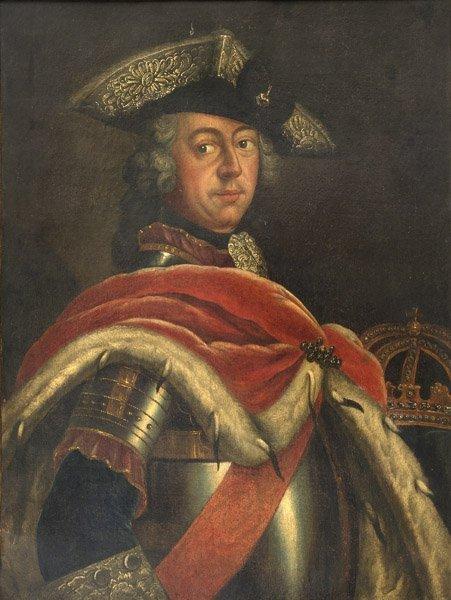 Nach Antoine Pesne (1683 - 1757), Kopist  Friedrich der