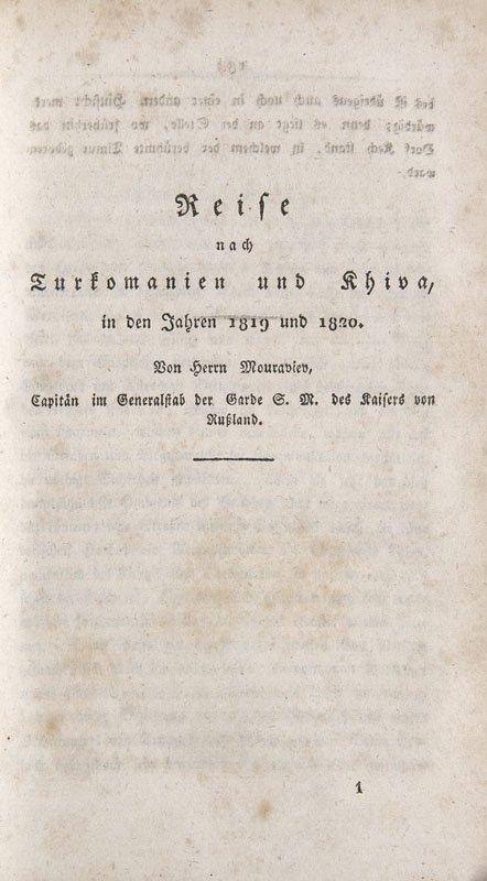 Meyendorff, Georg von  Reise von Orenburg nach Buchara - 2