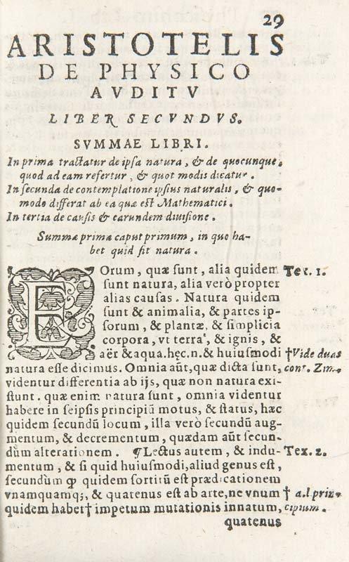 Aristoteles Physicorum Libri VIII. Pars Secunda Mit