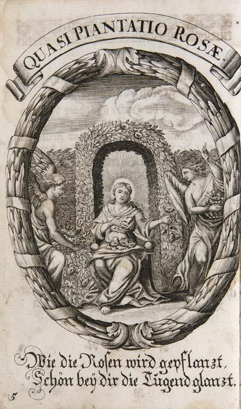 Gnaden-Gebäu Der Ubergebenedeyten Mutter Gottes, Und