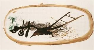 Braque, Georges La charrue (Der Pflug). Lithographie