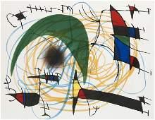Miró, Joan La Lune verte. 1972.