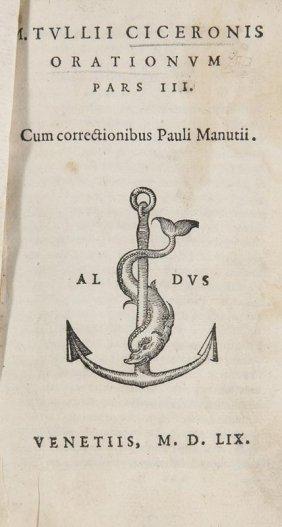 Cicero, Marcus Tullius Orationvm. Pars Iii. Cum