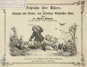 Kienast, Anton Gespräche über Thiere, Oder Edmund Und