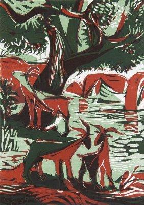 Graphische Kunst. Hg. Curt Visel. Hefte 42-59 Mit Zus.