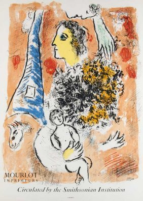 Chagall, Marc - Nach Mourlot Imprimeurs - Circulated By