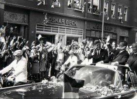 John F. Kennedy 6 Photographien. Silbergelatine Auf