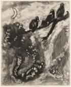 Chagall, Marc Le Renard et les Poulets d´Inde (aus: Les