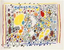 Sabartes, Jaime A los toros mit Picasso. Mit 103 Abb.
