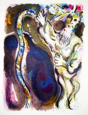 2: Marc Chagall - He threw his stuff to the ground and