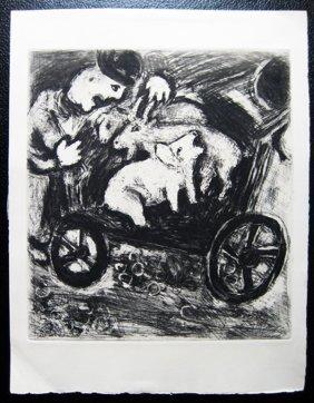 8: Marc Chagall - Le Berger et son troupeau