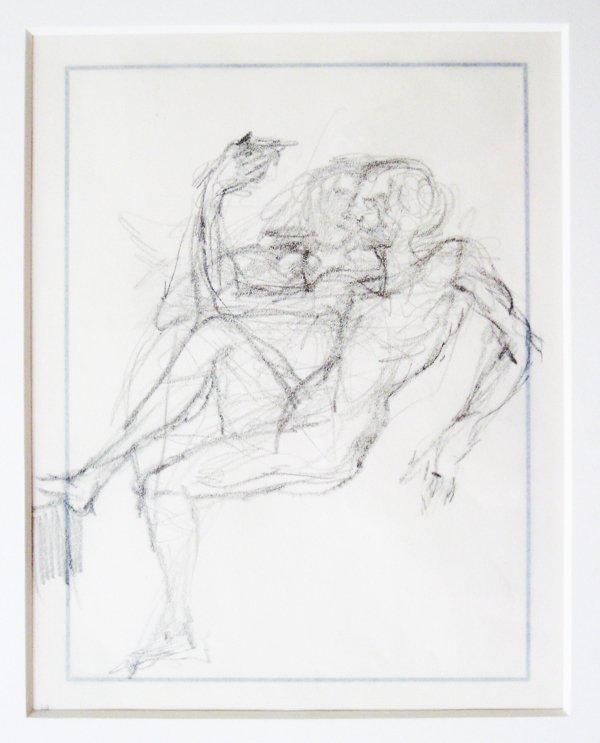 13: Salvador Dali - Etude de couple assis