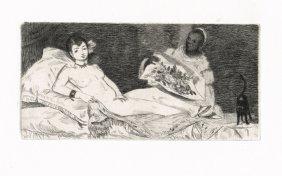 22: Edouard Manet - Olympia