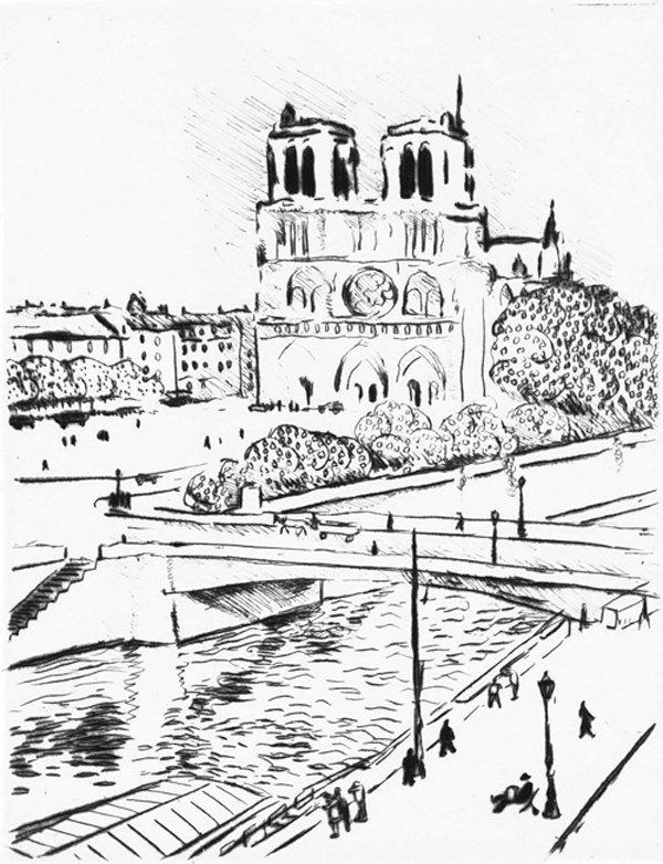 23: Albert Marquet -  Notre Dame, Paris