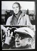 73: Brassai - Picasso facing / Brassai holding his came