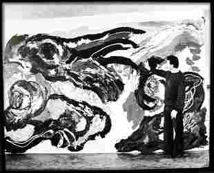 Karel Appel by Paul Almasy