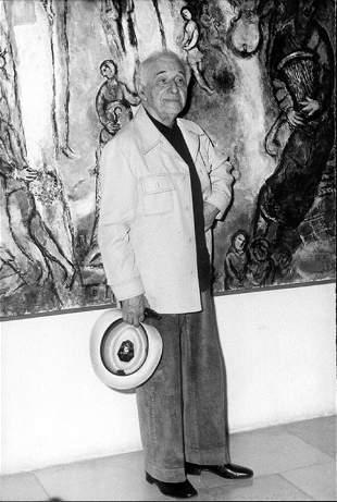 Le centenaire de la naissance de Chagall celebre a Mosc
