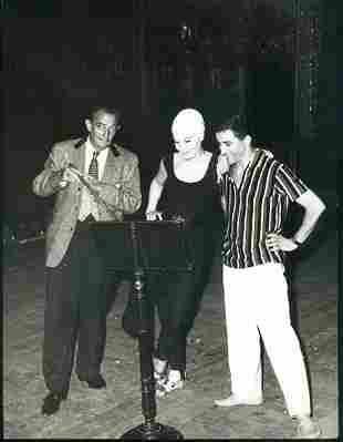 Dali avec Ludmilla Tcherina a VENECIA.