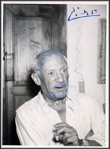 Pablo Picasso by Jacky