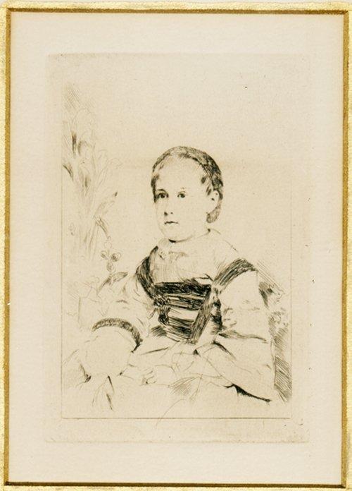 Edgar Degas - Mlle Nathalie Wolkonska