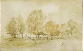 Camille Pissarro - Paysage d automne