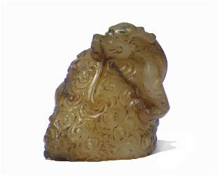 Chinese Jade Carved Dragon